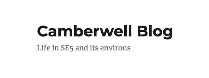 Camberwell Blog